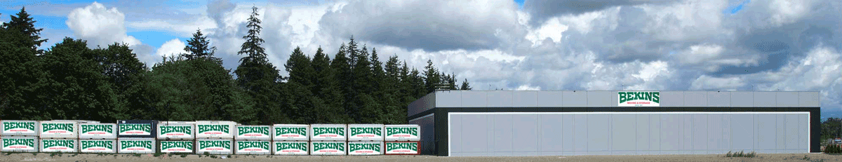 Bekins container storage enormous area